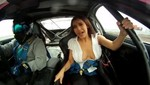 Race Car Double Boob Slip Video Scandal