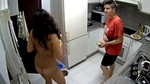 682.flv - Kitchen Lesbian Rat Voyeur Video