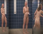 Looks like a sample of some great shower room footage that a voyeur wanted to share with a group- Wish there were more, but this arts edition will give you a boner.